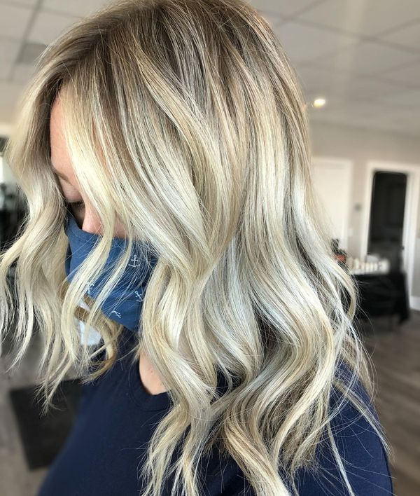 Relaxed Waves with Blended Highlights