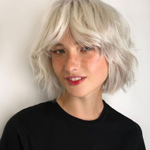 Blonde Ambition Bardot Bangs