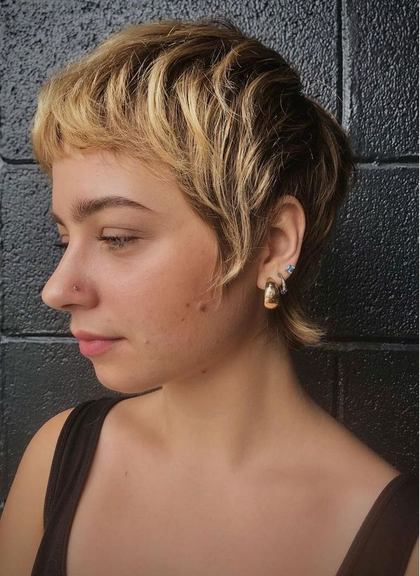 French Mullet Pixie
