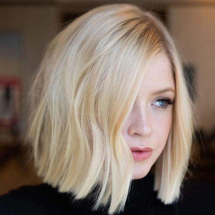 Easy Blonde Lob